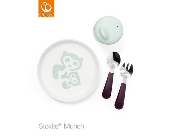Комплект посуды первой необходимости Stokke Munch Essentials 529801